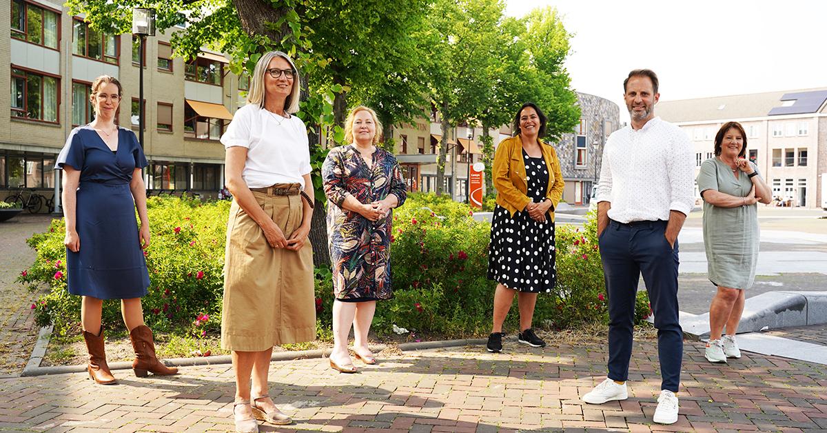 Team Careyn en Albeda Zorgcollege voor Careyn locatie de Vier Ambachten Spijkenisse